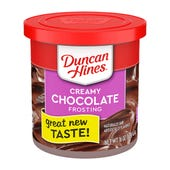 BETÚN DUNCAN HINES SABOR CHOCOLATE BOTE 454 GR