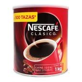 CAFÉ SOLUBLE NESCAFE CLASICO NPRO LATA 1 KG
