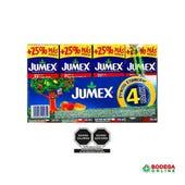 JUGO  JUMEX 4 PACK 250 ML