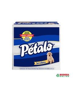 SERVILLETAS PETALO PETALO 1X1 100 PZ