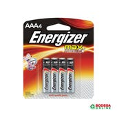 PILAS ENERGIZER MAX AAA BP4 1 PZ