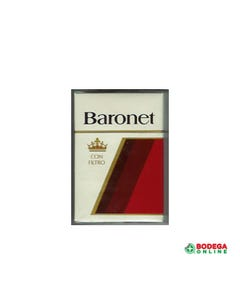 CIGARRO BARONET KS BOX 20´S 1 CL