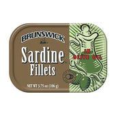 SARDINA BRUNSWICK EN ACEITE DE OLIVA 106 GR