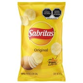 PAPA SABRITAS FRITAS C/SAL ORIGINAL 45 GR
